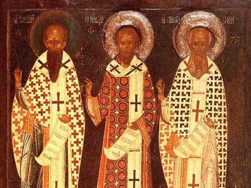 Εορτασμός Τριών Ιεραρχών στα Σχολεία